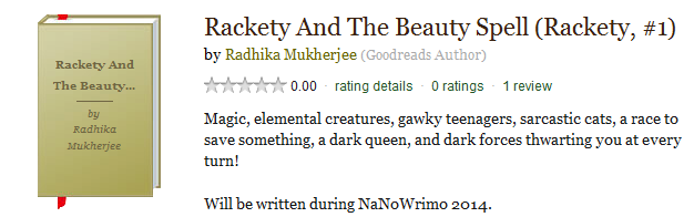 Rackety and the Beauty Spell